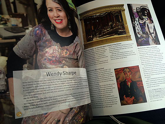 Wendy Sharpe - Look Magazine